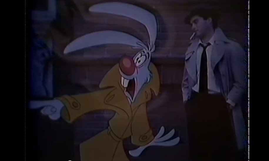 Take a look at Disney's bizarre first attempt at a Roger Rabbit film