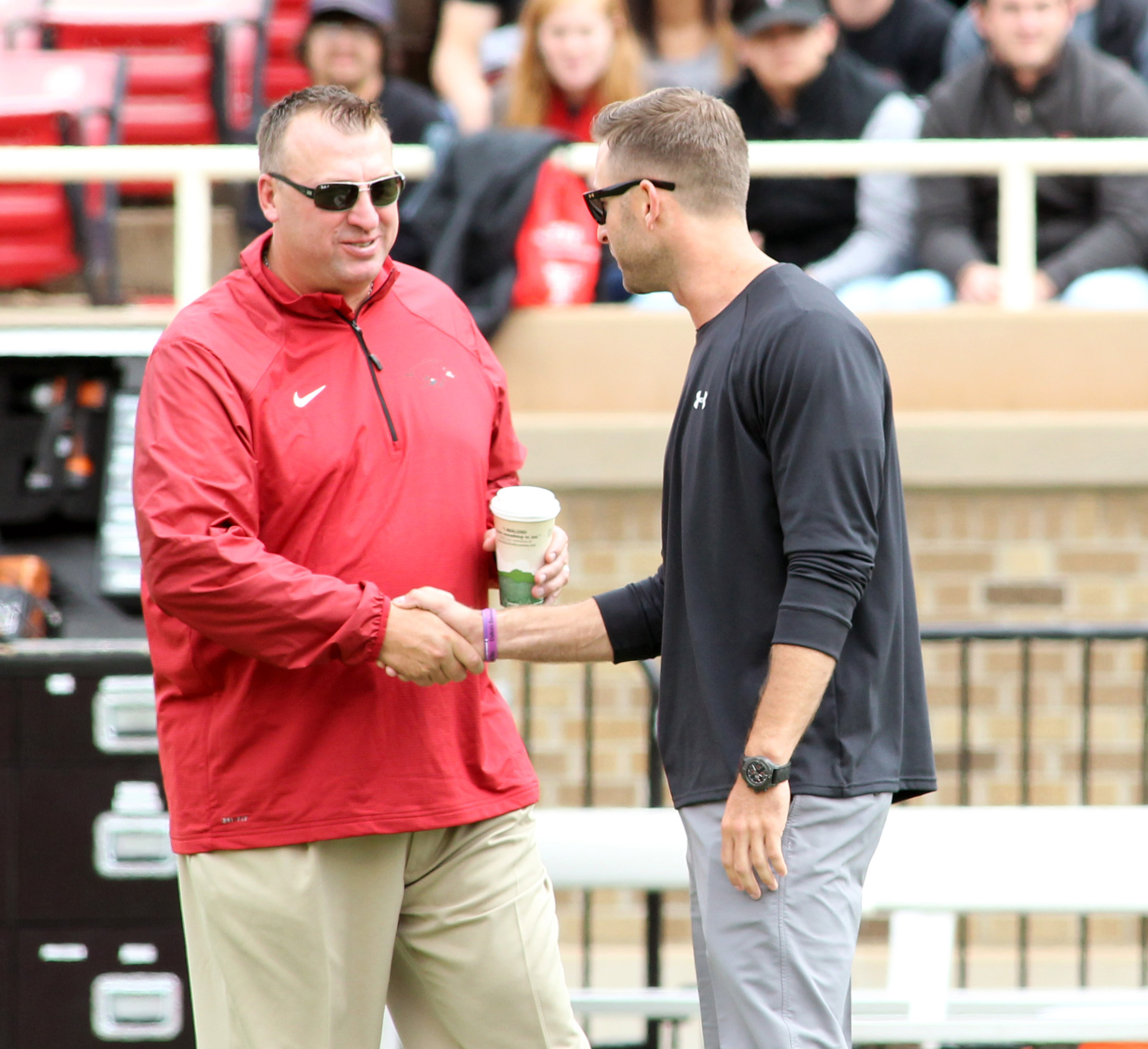 How'd you like that pounding, Kliffy?