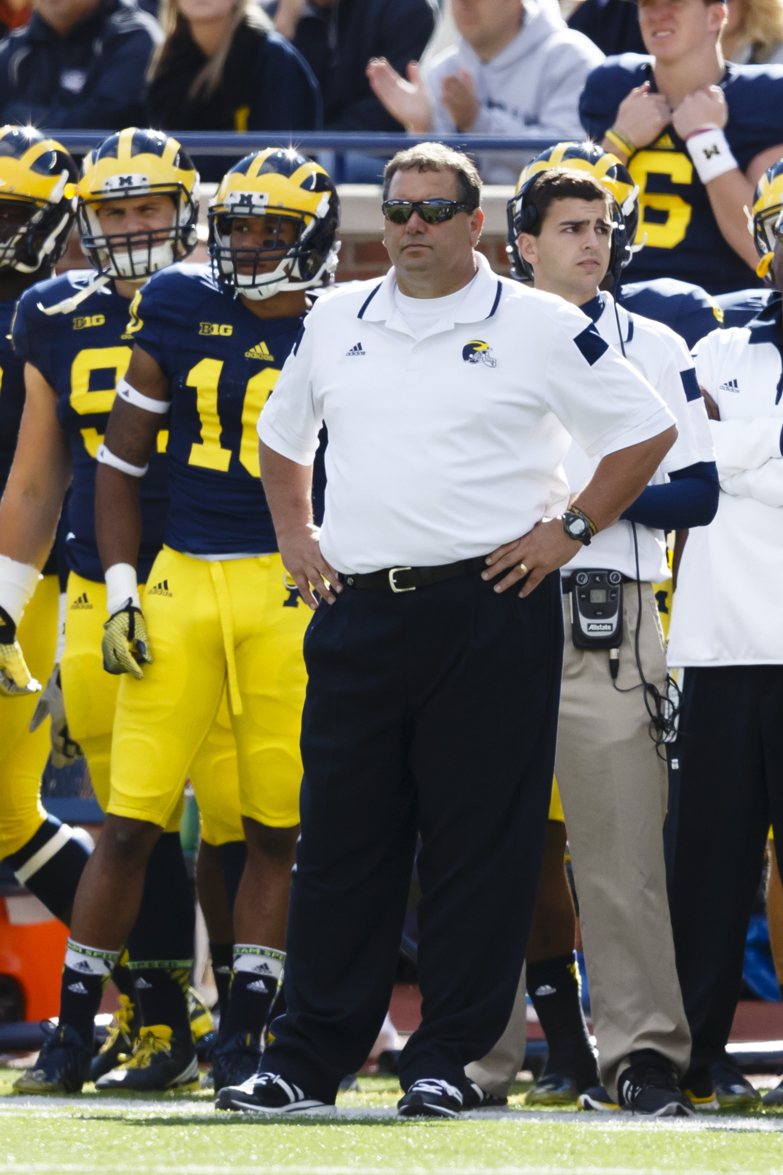 Former San Diego State head coach Brady Hoke and his Michigan Wolverines is standing between Utah and what could be a very good season.