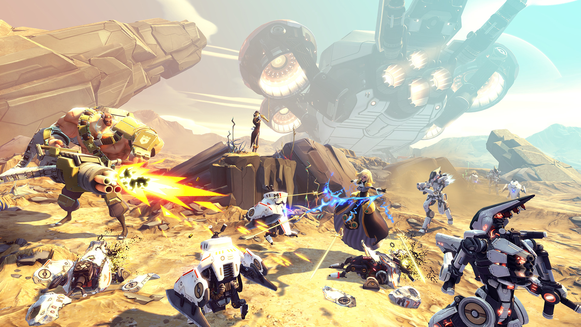 With Battleborn, Gearbox looks to set a new standard for co-op shooters
