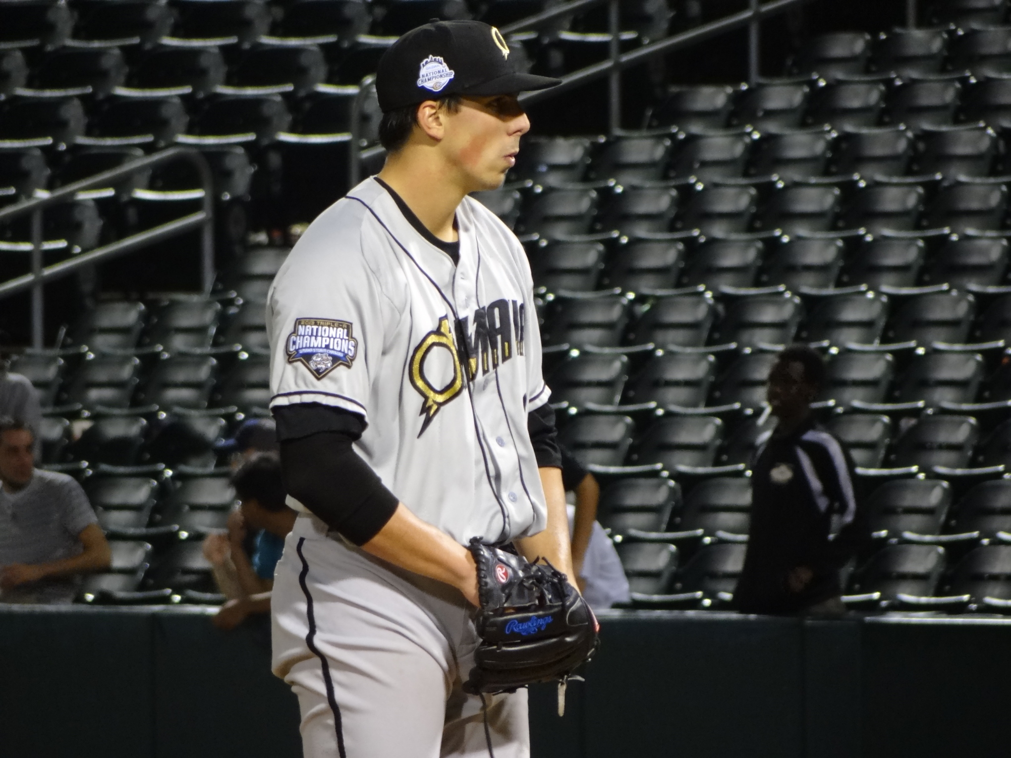 Kyle Zimmer earns the win in his Triple-A debut