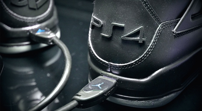 These PlayStation 4 Air Jordans are $950 — but they have an HDMI port