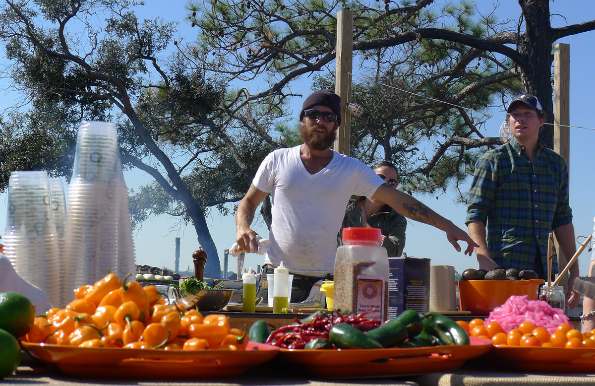 Hello, chef Eric Warner from Tulum, México.
