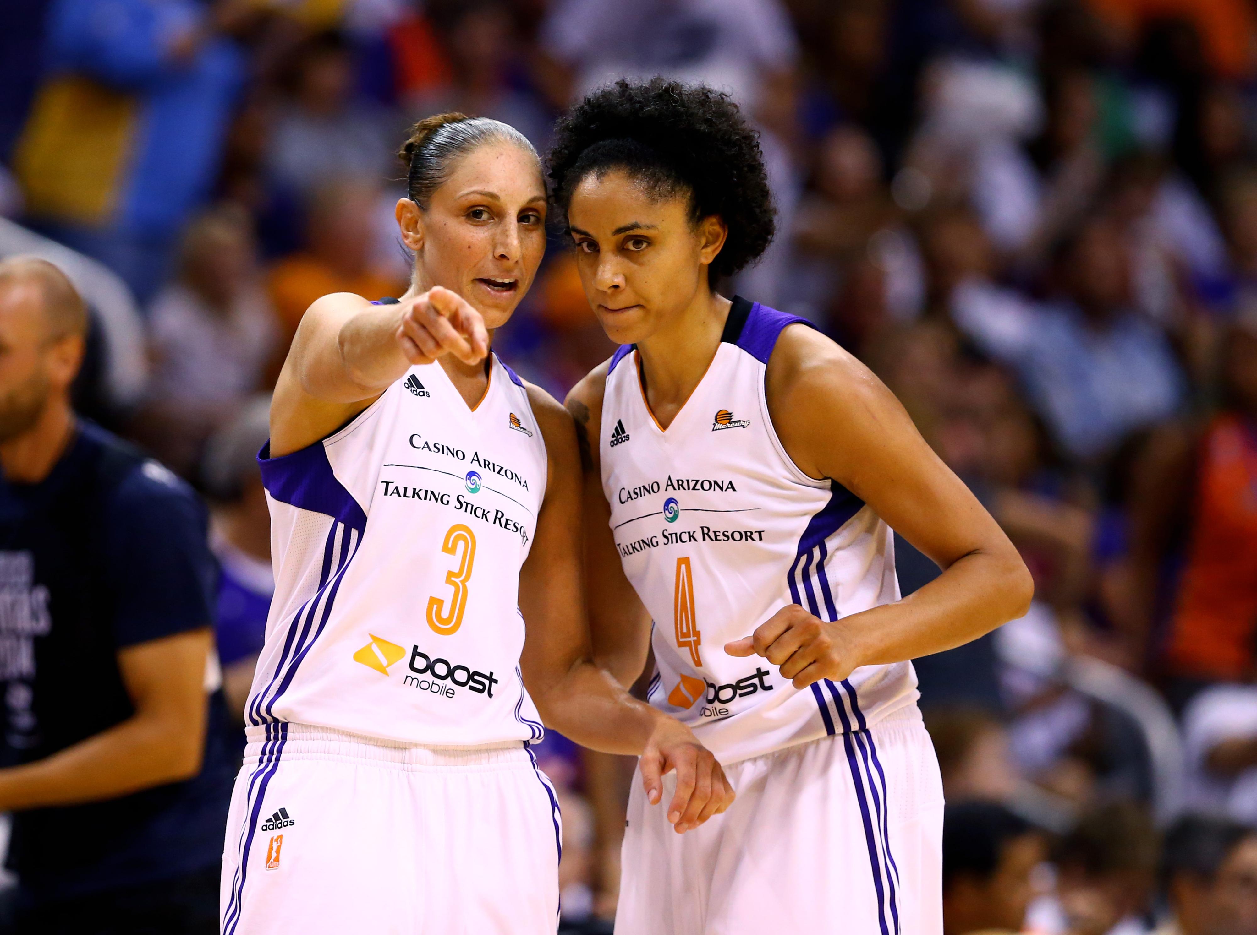 Phoenix Mercury teammates Candice Dupree and Diana Taurasi will join USA Basketball in Paris.