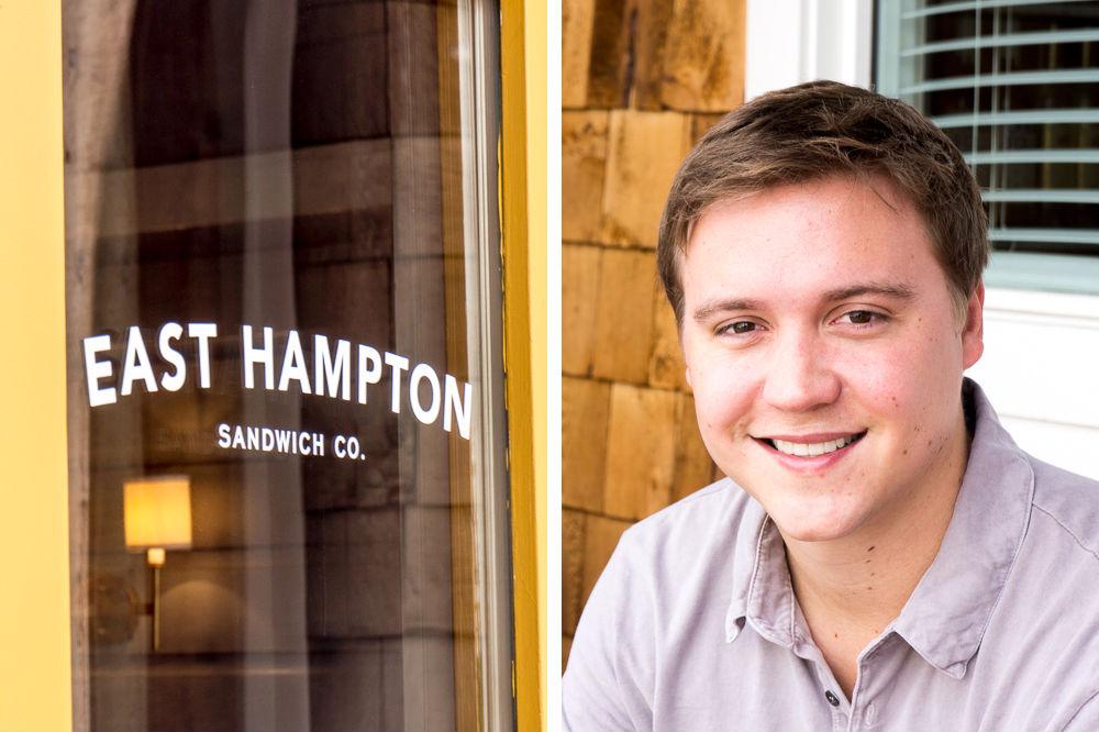 East Hampton Sandwich Co. owner Hunter Pond.