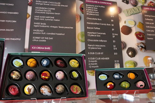 Kate Weiser Chocolate.