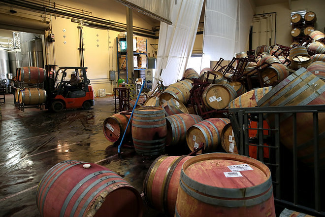 Napa's Restaurant and Wine Industry Begins to Rebuild After Earthquake