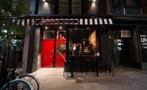 Cafe Bar Pasta.