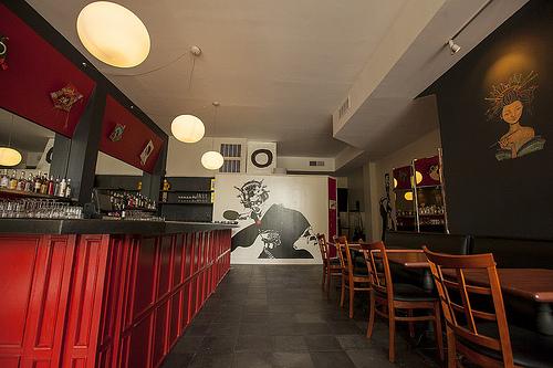 The Former Juno Bar Area