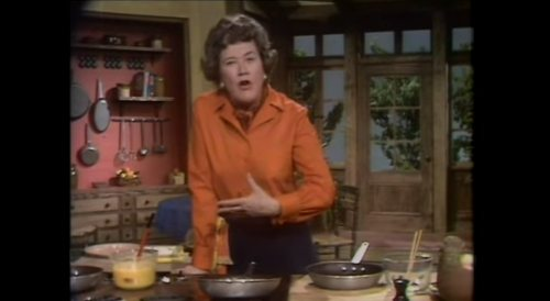 Watch Julia Child Make an Omelette on The French Chef