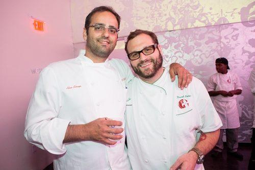 David Slater with Alon Shaya