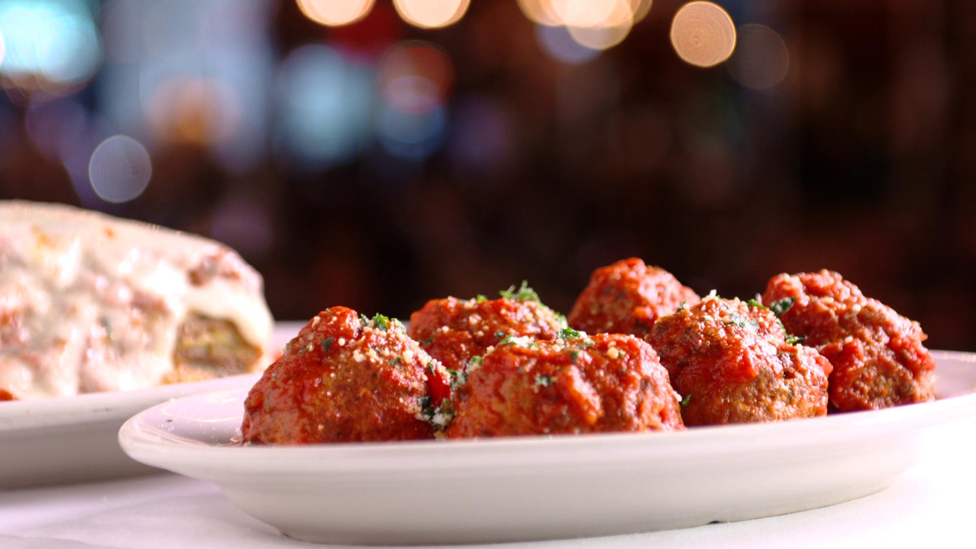 Carmine's meatballs