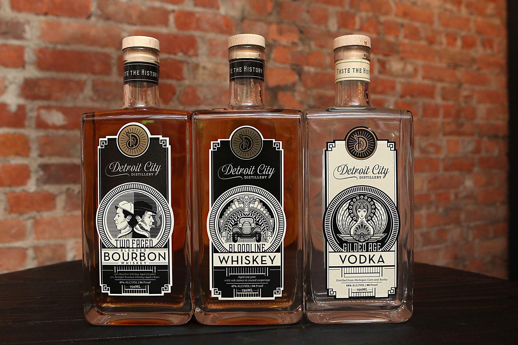 Detroit City Distillery.