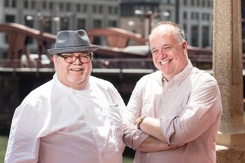 Tony Mantuano and John Hogan