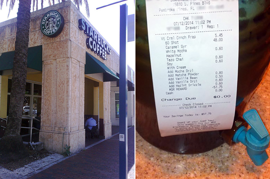 Starbucks Free Drink Record Now Set at $60
