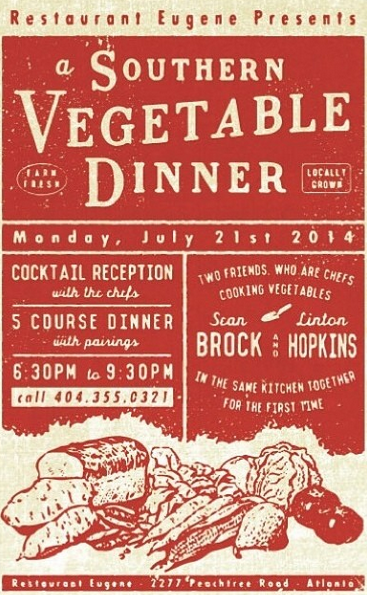 A Southern Vegetable Dinner; Cubanos to Celebrate Chef
