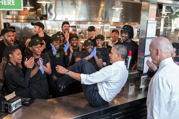 11 Crazy Food Lines Obama Should Cut Because He Can