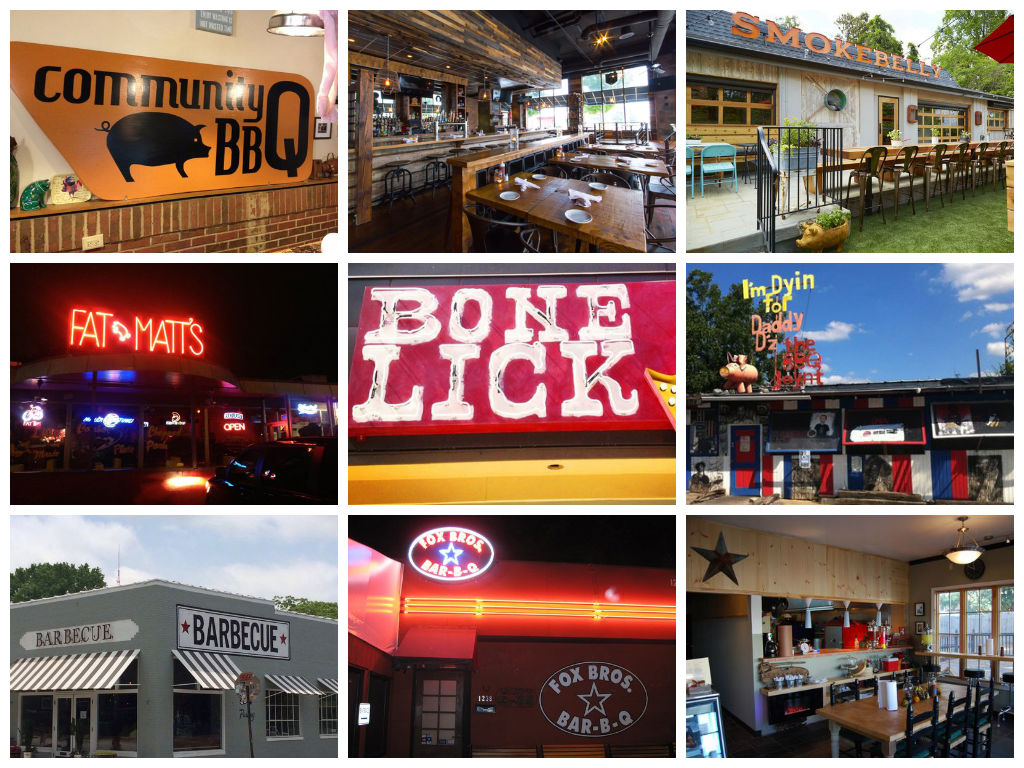 Where to Eat Barbecue in Atlanta