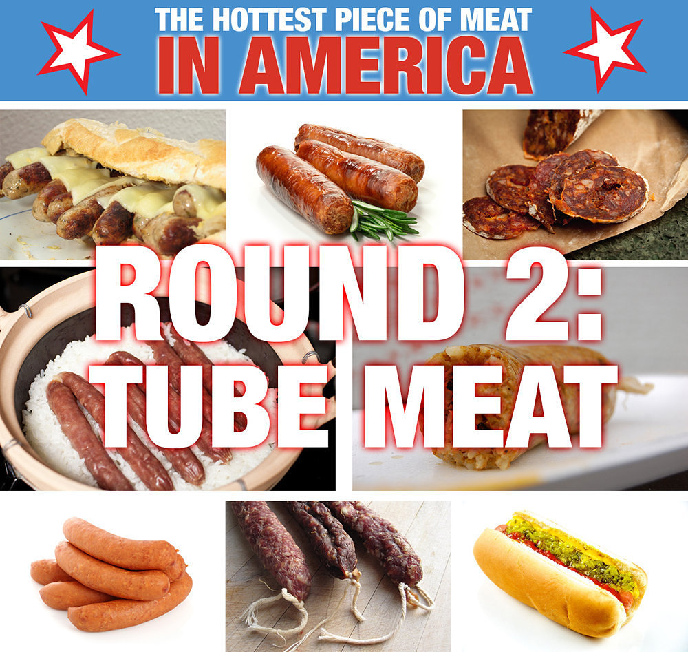 VOTE: The Hottest Piece of Meat: Tube Meat Round 2