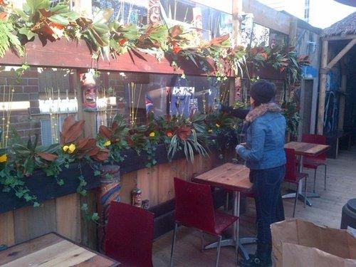 Bovine Tiki Bar.