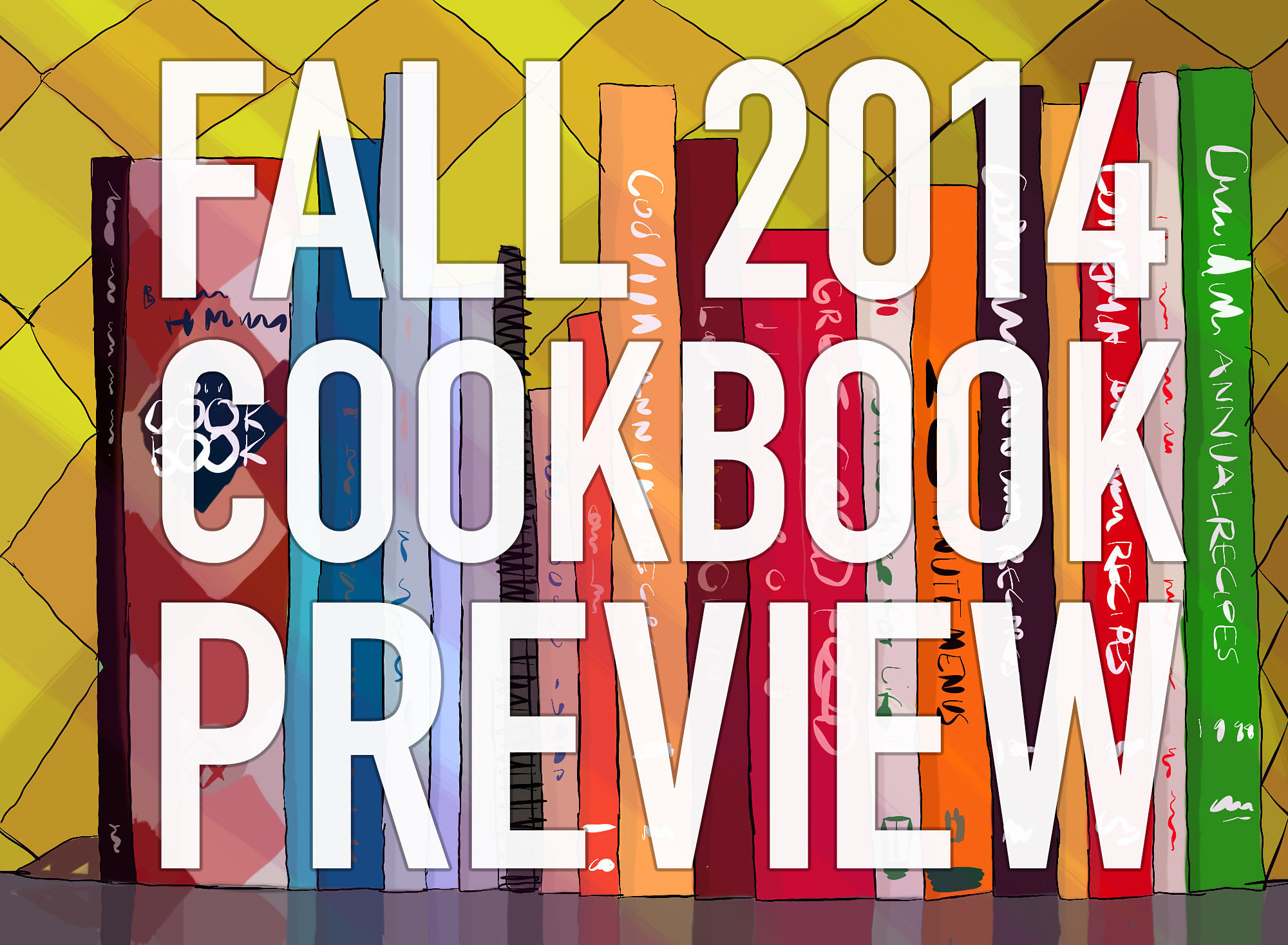 The 43 Most Anticipated Cookbooks of Fall 2014