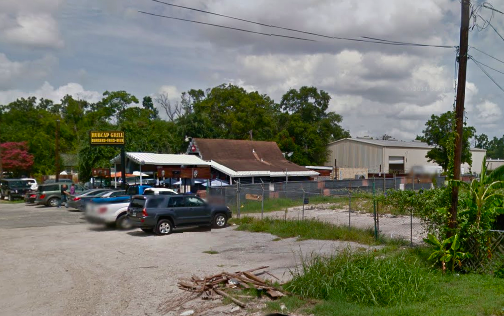 The plot of land in question is next to Hubcap in the Heights