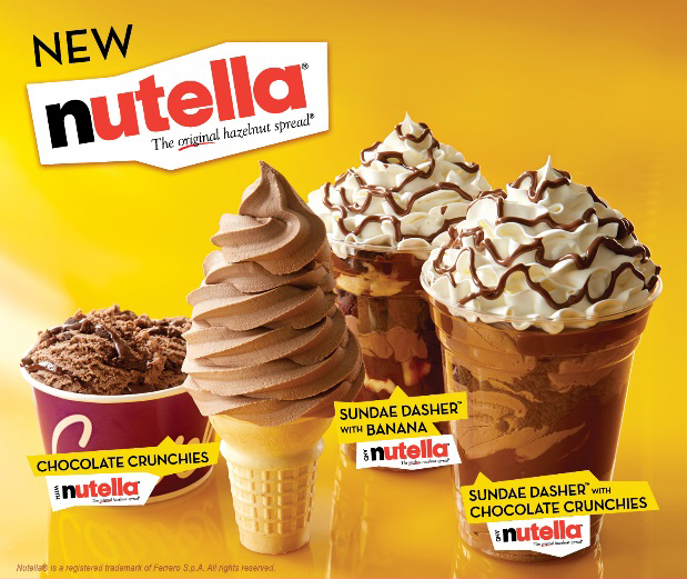 Carvel Is Launching Nutella Ice Cream and Soft-Serve