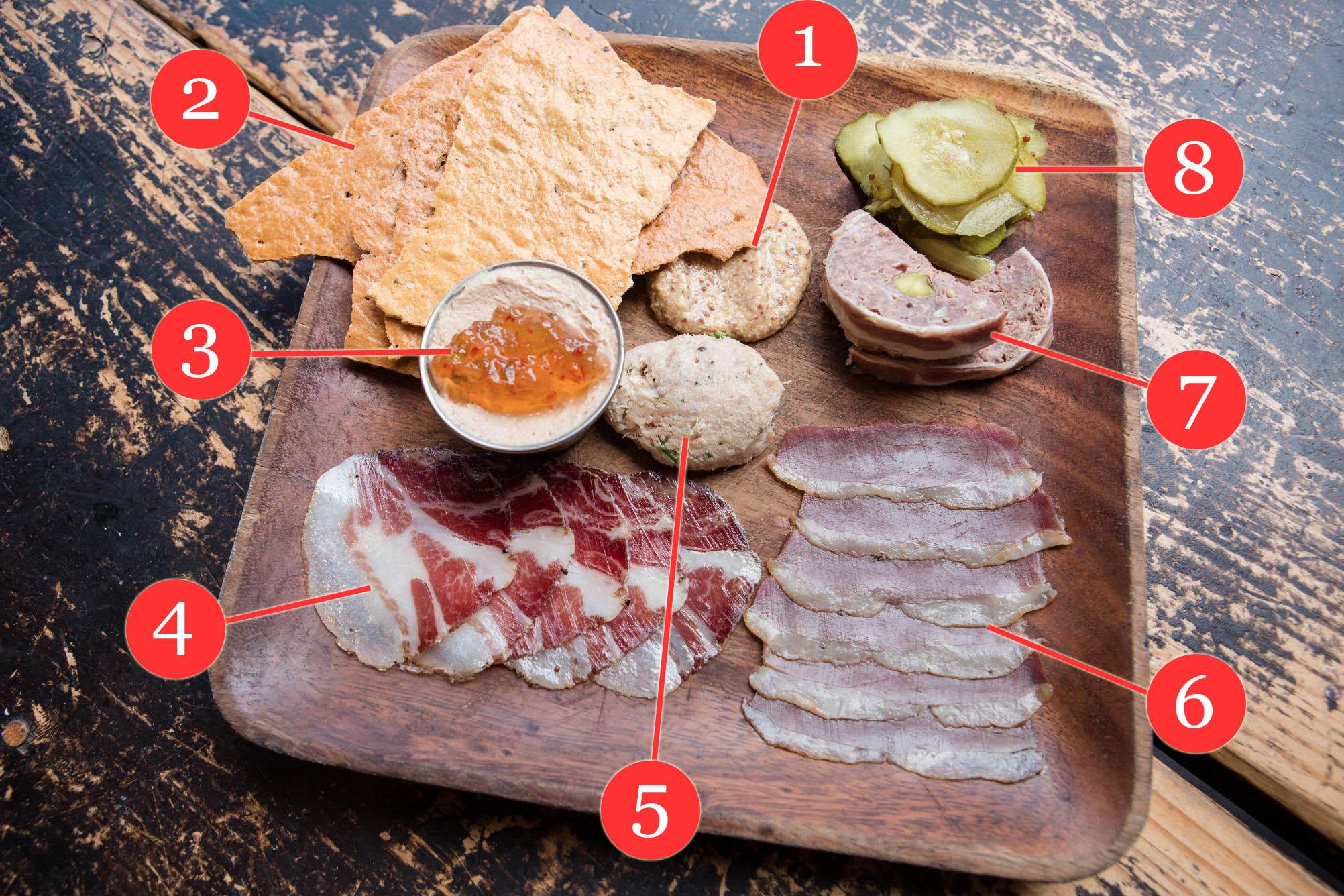 The Charcuterie Board at Cochon Butcher in NOLA