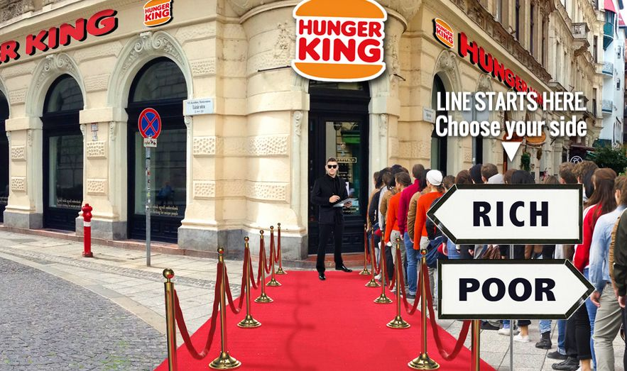 Artist Erects Fake Burger King to Serve Homeless