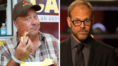 The 12 Best Lines From Andrew Zimmern on Alton Brown's Podcast