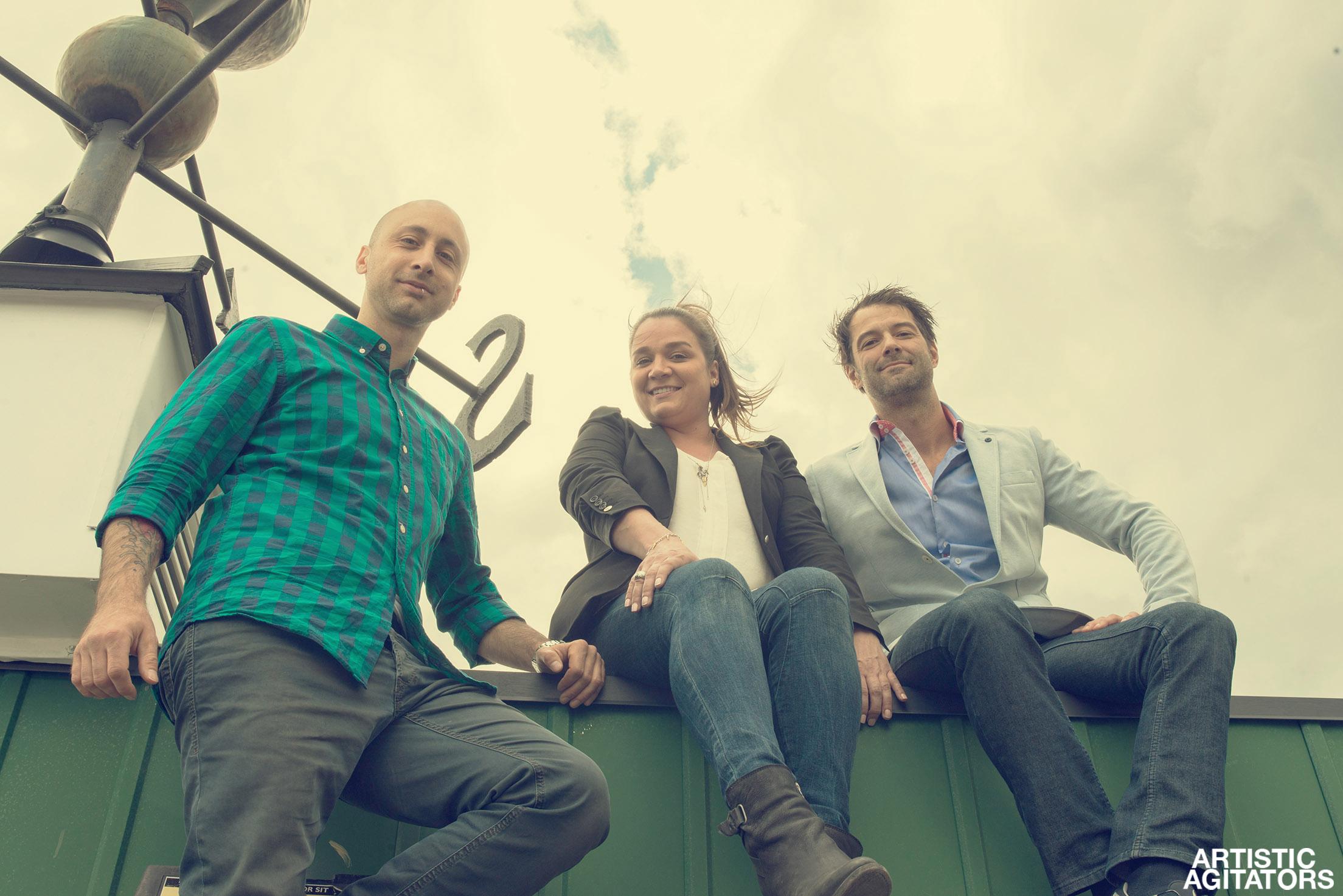 Jeff Stinco, Cindy Simard, and Éric Le François
