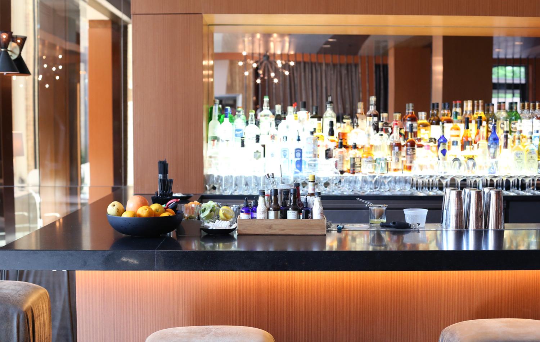 The bar at Knife.