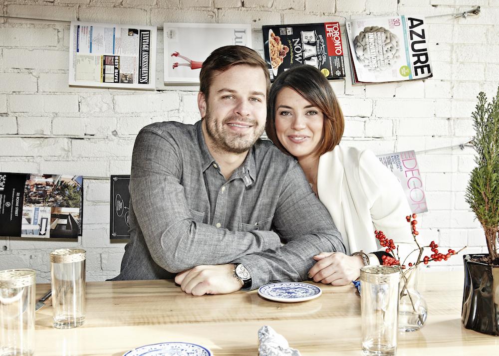 <strong>Café Bar Pasta</strong> owners <strong>Tom Bielecki</strong> + <strong>Christine Vieira</strong>