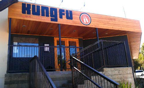 Kung Fu Saloon.