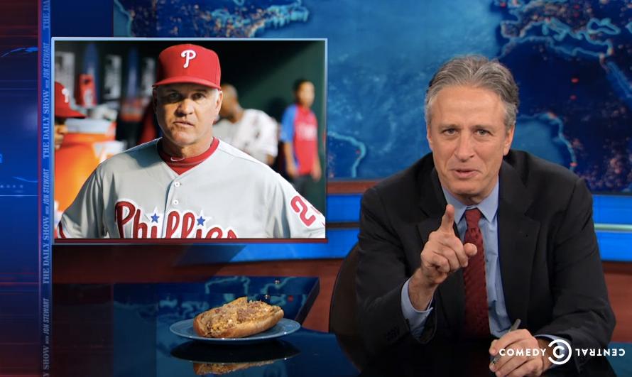 Watch Jon Stewart's Tirade Against Philadelphia Food