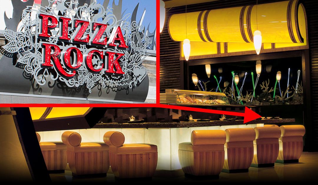 Sushi & Sake and Pizza Rock