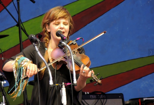 Theresa Andersson at Jazz Fest 2013