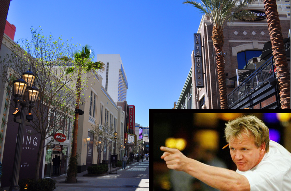 Gordon Ramsay and The Linq