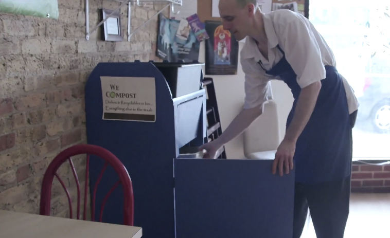 Watch How a Chicago Restaurant Creates Zero Waste