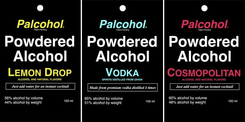 The Makers of Palcohol Really Don't Want You to Snort It