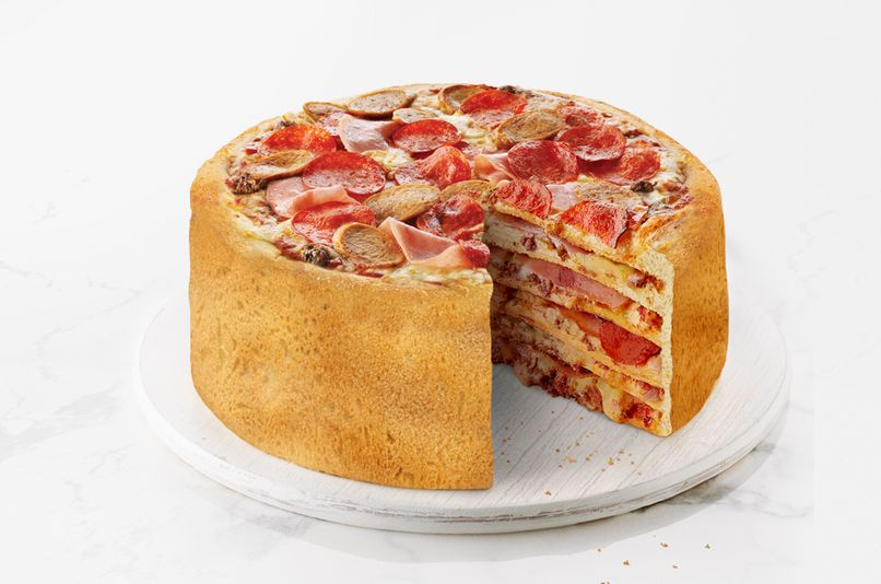 Canadian Pizza Chain Threatens to Unleash 'Pizza Cake'