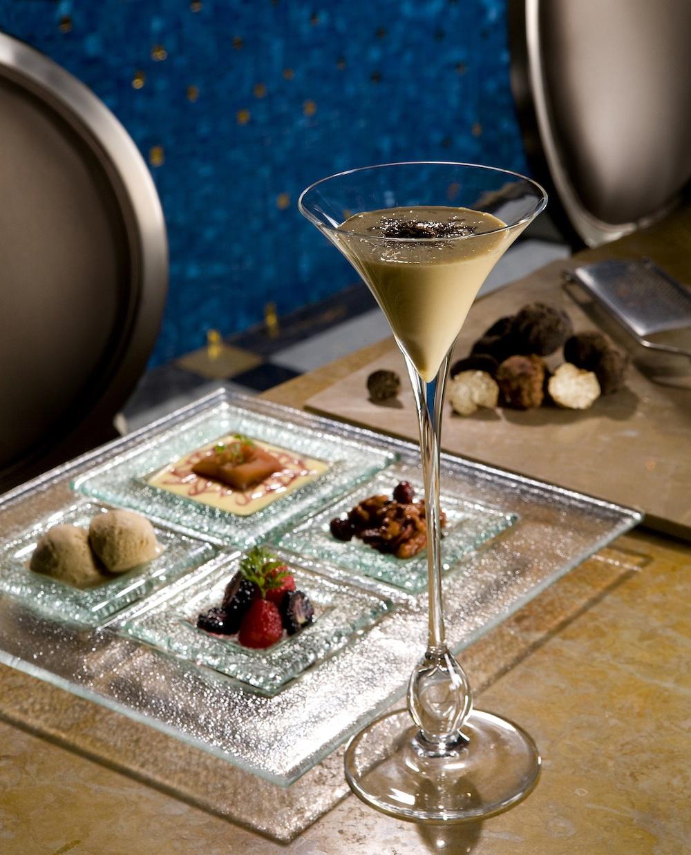 Andre's foie gras martini