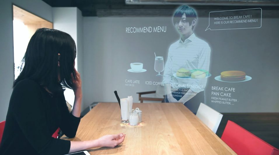 Watch a Future Japanese Cafe Function Without Waiters