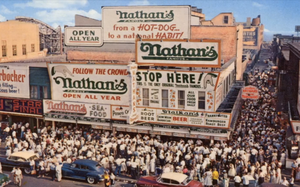 Watch a Trailer for a Nathan's Famous Documentary