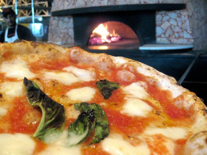 Pizzeria Orso's oven