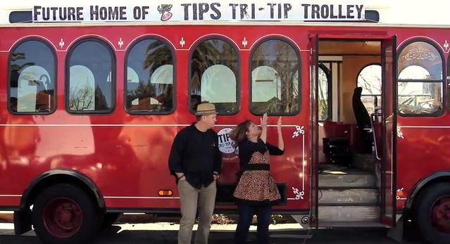 California Welcomes Its First Ever Trolley-Car Food Truck
