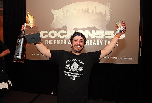 Cosmo Goss, Chicago's 2013 Cochon 555 Champ