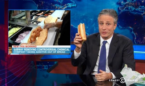 Watch Jon Stewart Learn What's in His Favorite Fast Foods