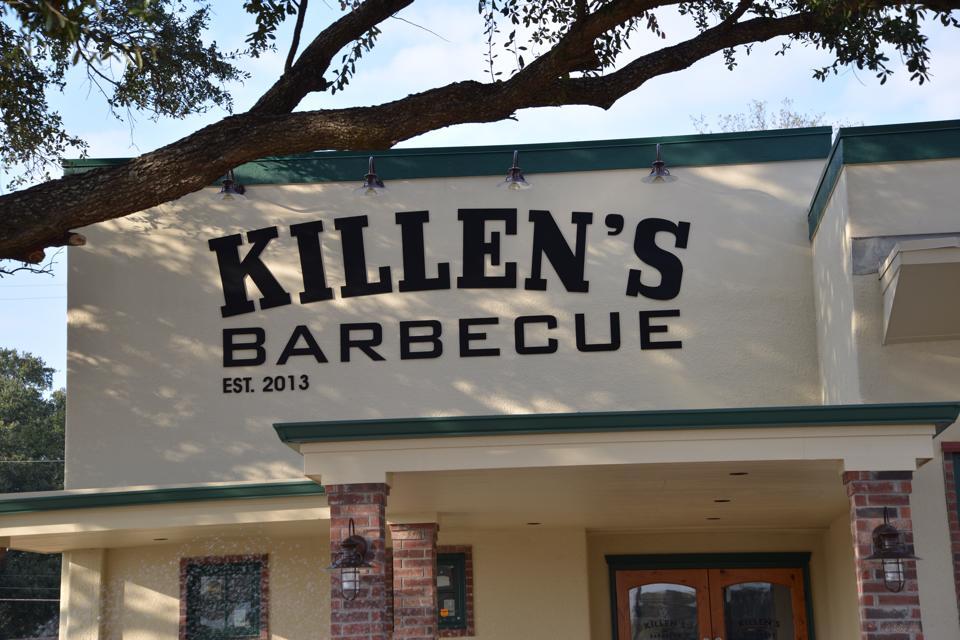 Killen's pretty new sign