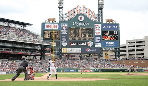 Comerica Park Dining Guide